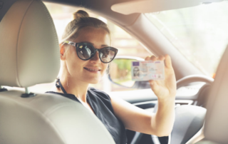 Drivers License with Smiles Driving Academy