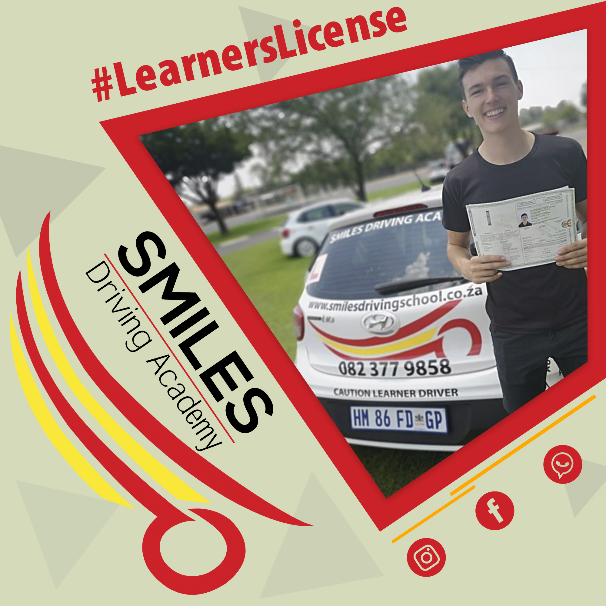 Smiles 9 Feb - What is a learners license